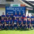 1st Team beat North Tawton 16 - 17