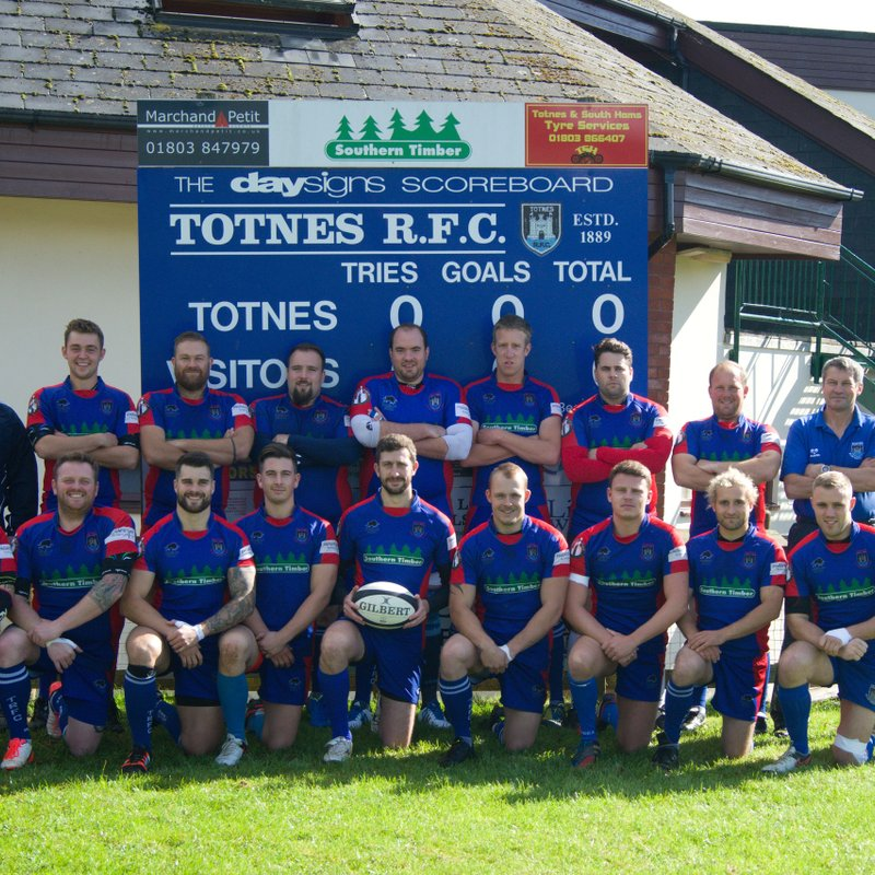 Totnes RFC fall to Dartmouth in the final of the Devon Junior Cup in North Devon
