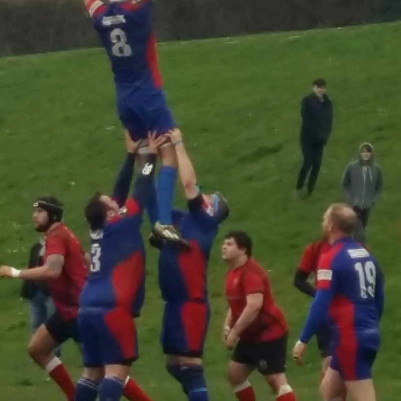 Best win of the season for Totnes RFC as they battled against Exeter Saracens away from home