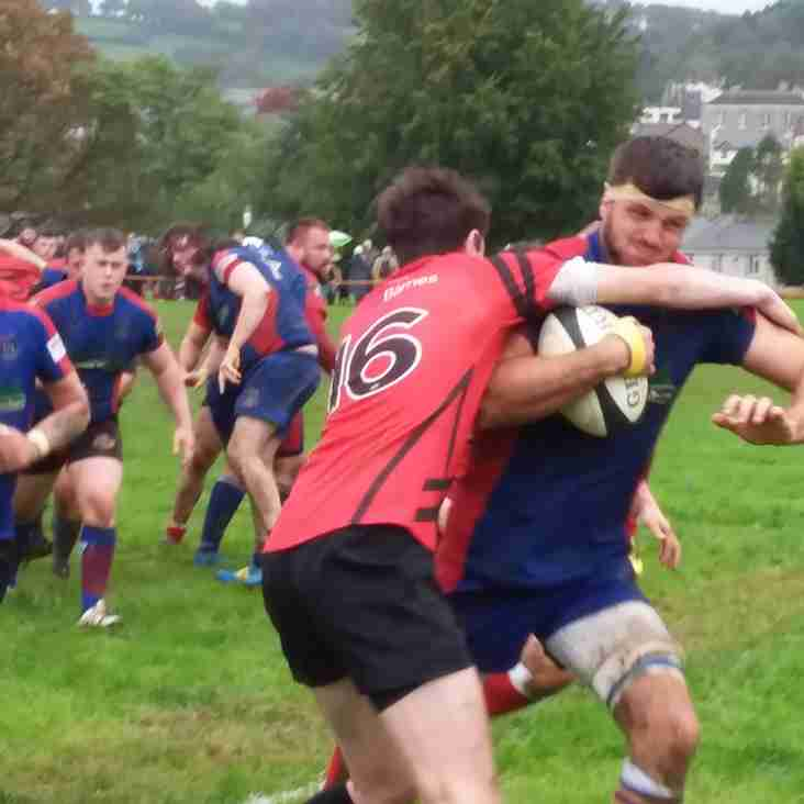 TOTNES RFC FIRST DOUBLE OF THE SEASON
