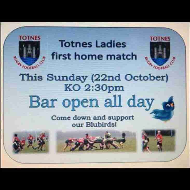 Totnes Ladies host St Austell in first ever home game