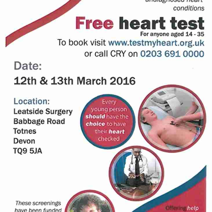 Free Heart Tests