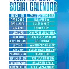 Forthill Social Calender 2017