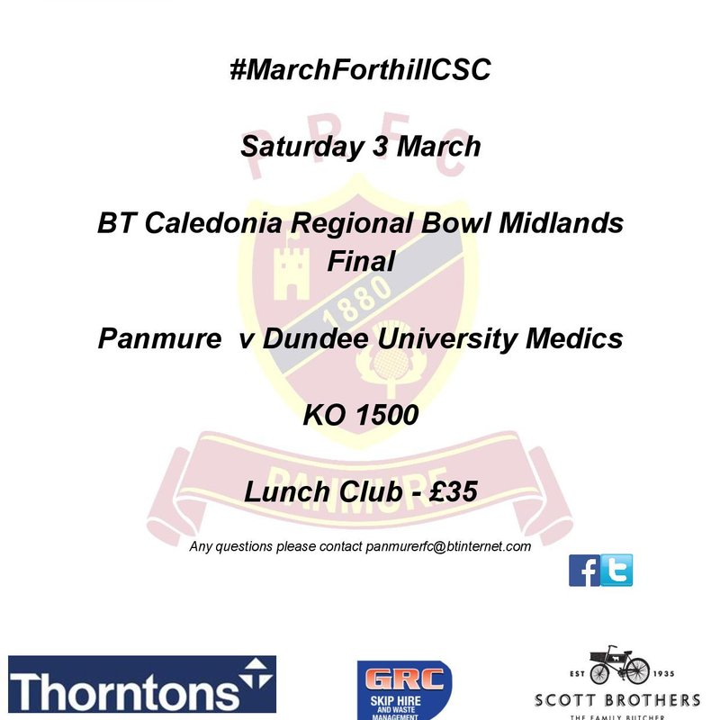 BT Caledonia Regional Bowl Midlands Final