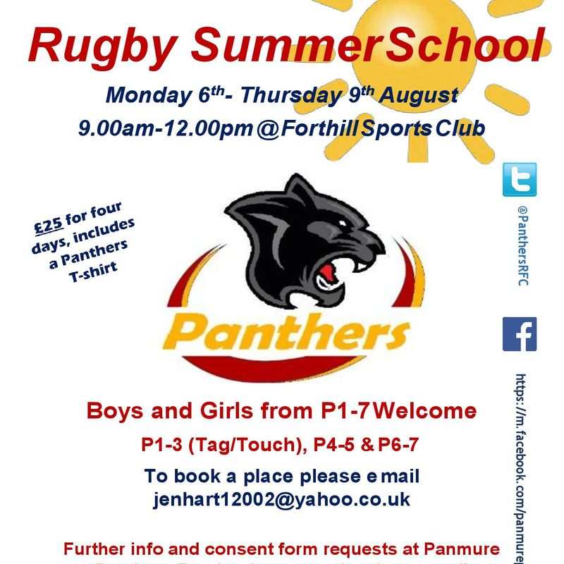 Panthers Summer School