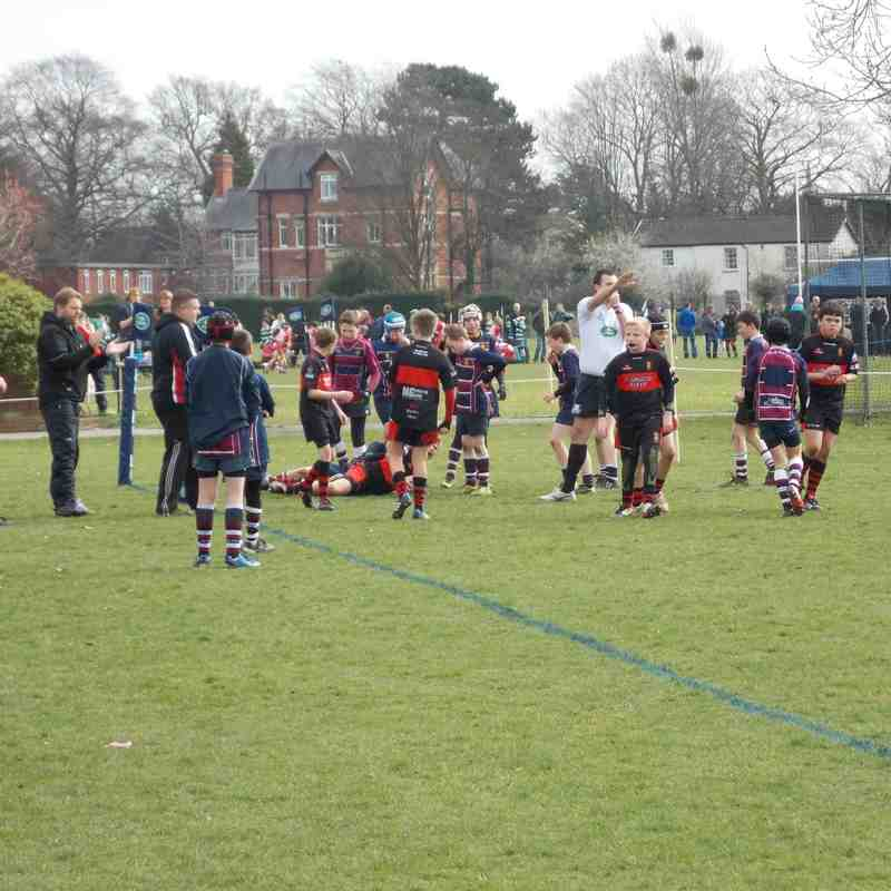 U12 - The Landrover Cup - 22.03.2015