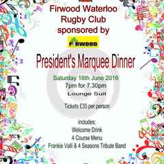 Presidents Marquee Dinner