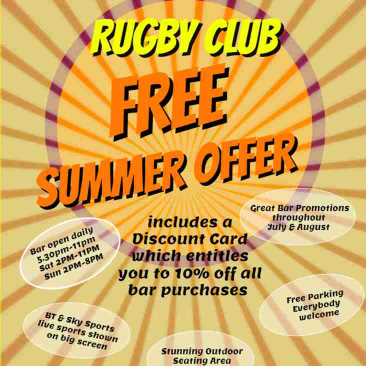 Free Summer Offer