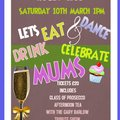 Mothers Day Saturday 10th March