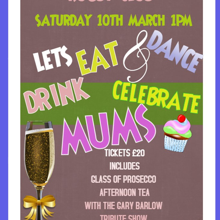 Mothers Day Saturday 10th March<