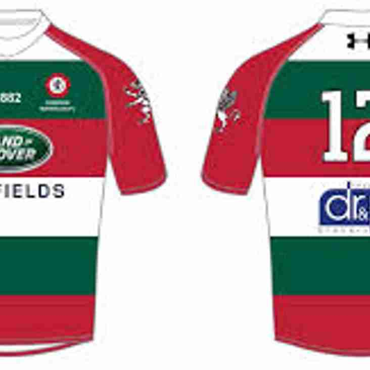 1st XV Home Shirt Sponsorship  - SOLD OUT