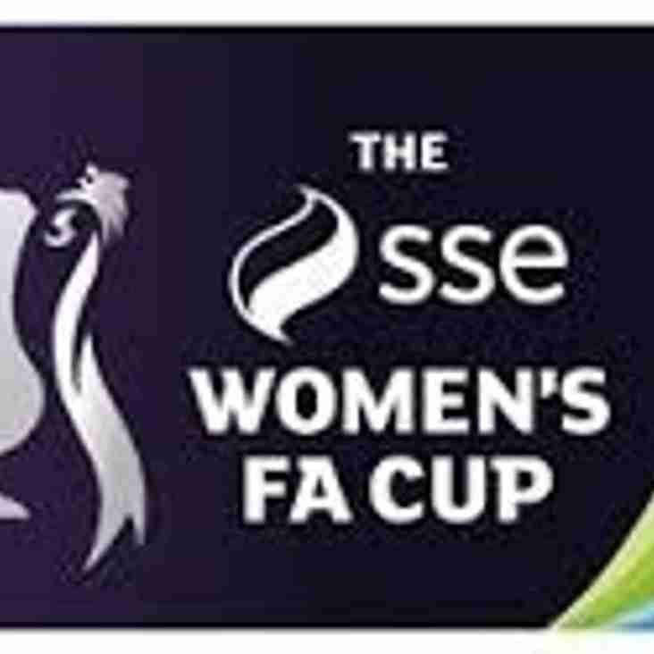 18th Aug: SSE WOMEN FA CUP  DRAW