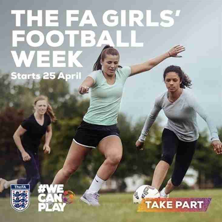 FREE LADIES  FOOTBALL TRAINING SESSION