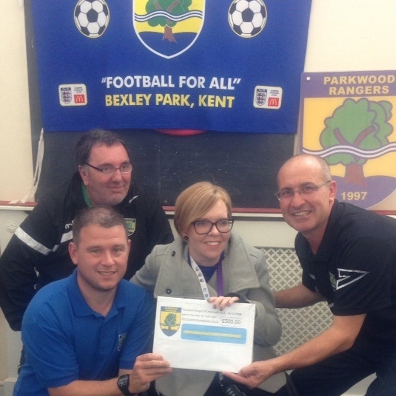 Parkwood Rangers Support Local Appeal.