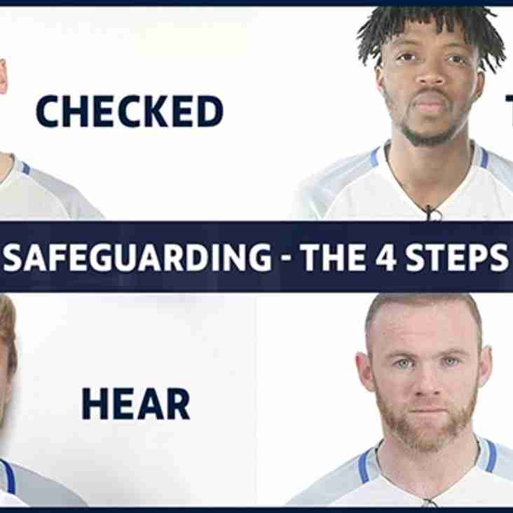 FA Safeguarding - The Four Steps