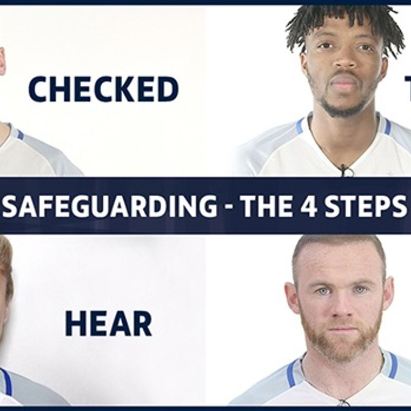 FA Safeguarding - The Four Steps