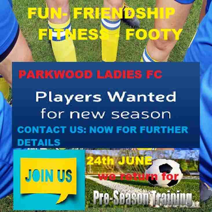 PLAYERS WANTED - ALL POSITIONS