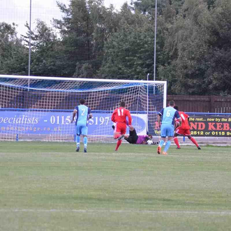 First Team v Nottingham Forest U18 - 4th August 2015