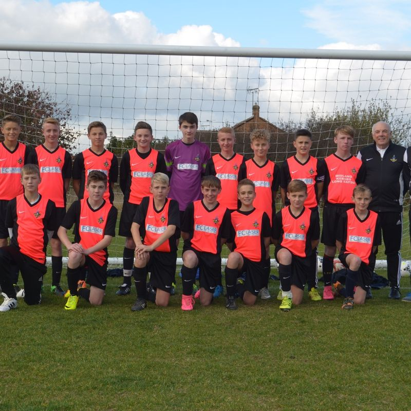U15 beat Corby Town fc 6 - 2