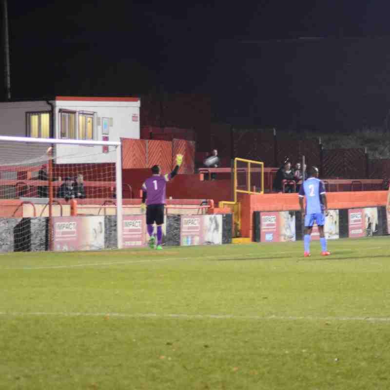First Team v Alfreton Town - 19th January 2016