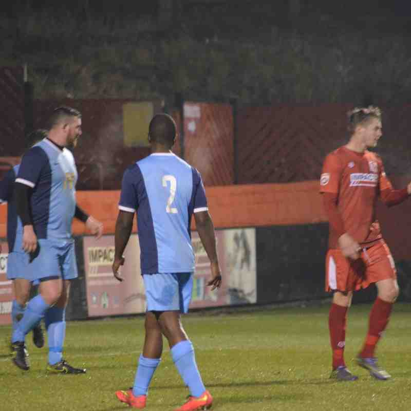 First Team v Alfreton Town - 19th January 2016