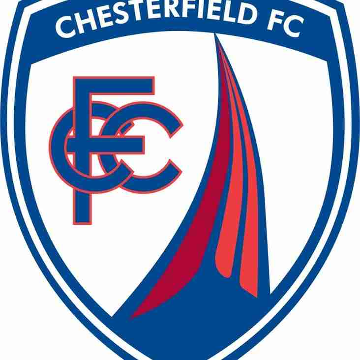 United v Chesterfield Tuesday 26th July