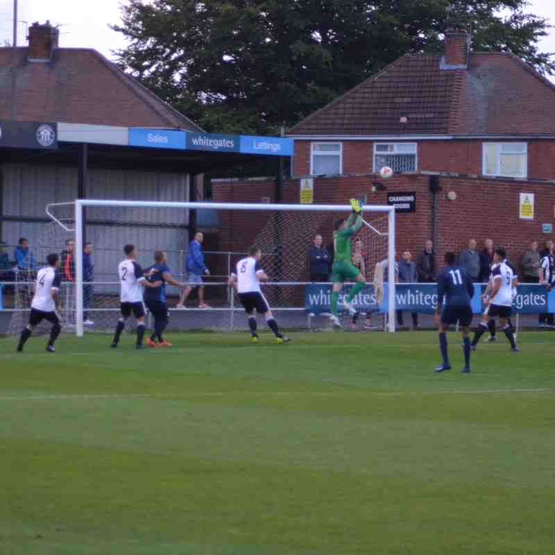 First Team v Heanor Town - Sat 20 Aug 2016