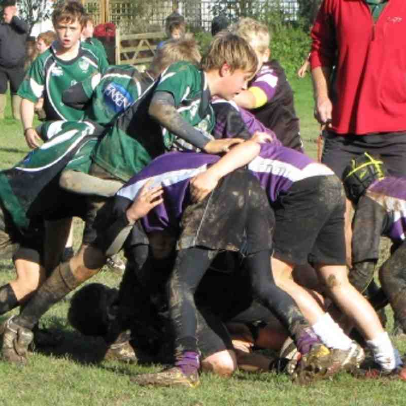 U12s Away Sidmouth 21 Oct 12