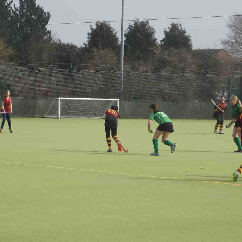Ladies 1st XI v Bicester Ladies 3's - 12th March 2016