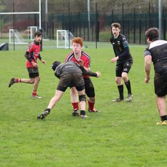 hfd u14s vs Bridgnorth .. hfd 41- BN 5