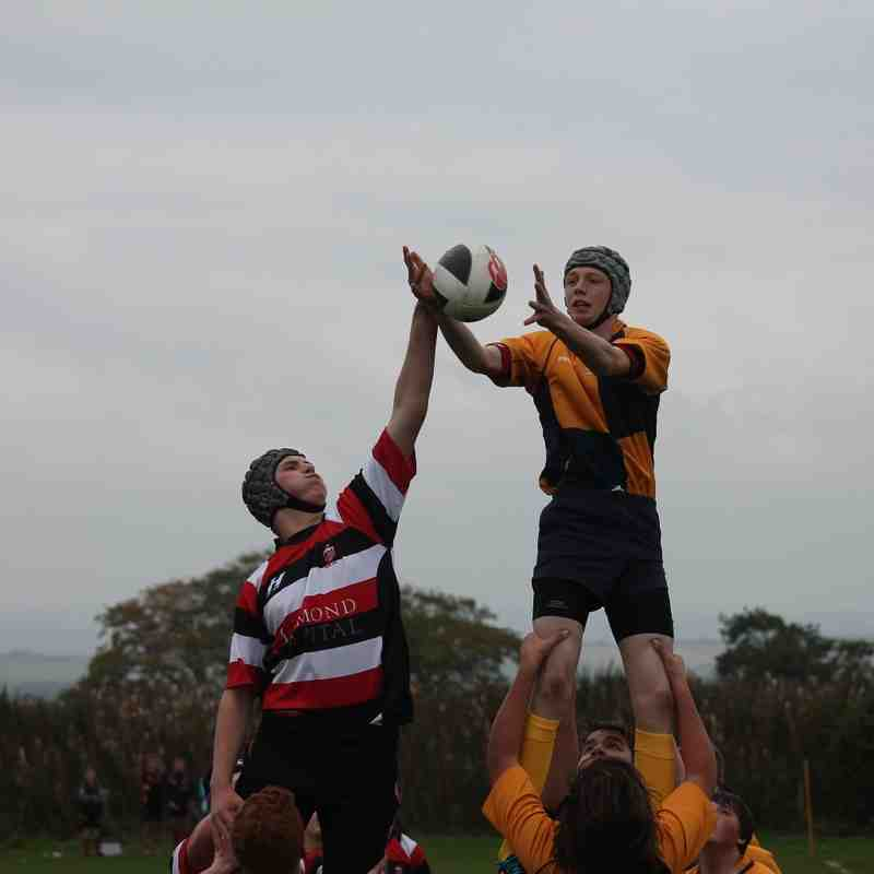 U16 vs Stirling County 14-09-14
