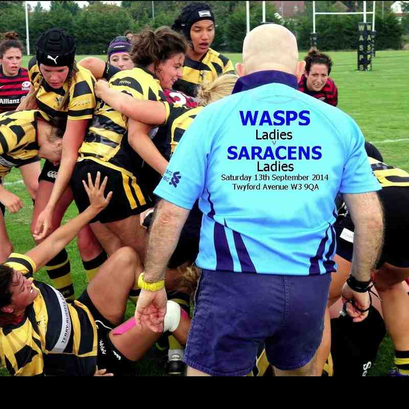 Wasps Ladies v Saracens Ladies TAve 13.9.2014