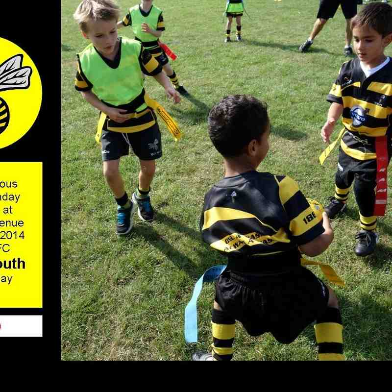 Wasps FC Minis & Youth 21st SEPT 2014 [two]