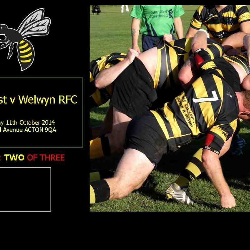 FC Men 1st V Welwyn RFC [2/3] 11.10.14 TAve