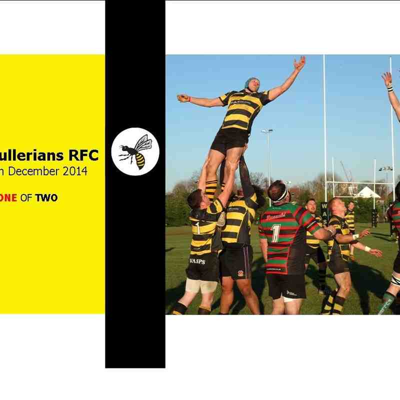 Wasps v Fullerians [1/2] December 2014