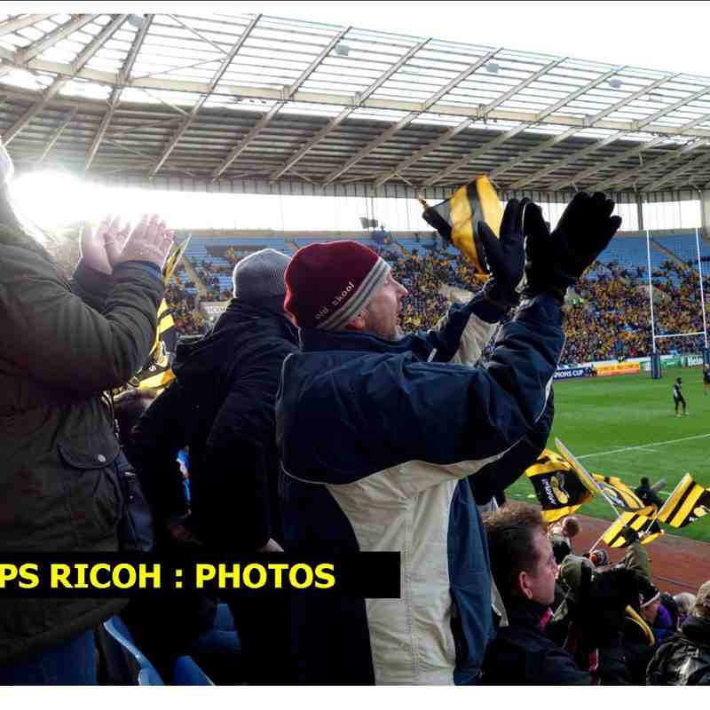 Ricoh/Wasps : glimpses of the new RFC home