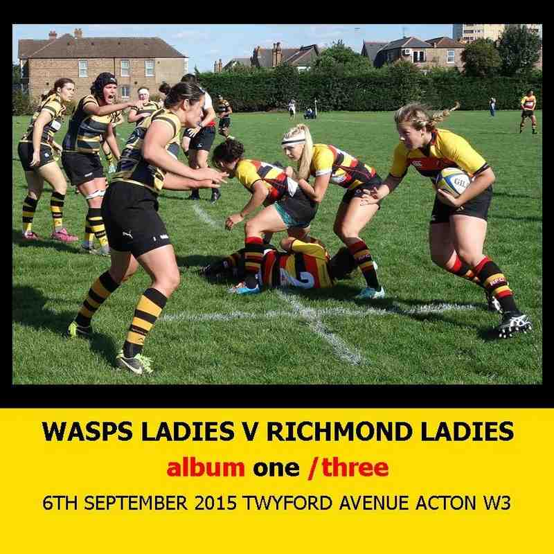 Wasps Ladies I v Richmond Ladies I - 6thSEPT15 [1]