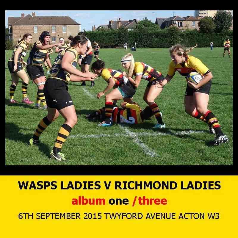 Wasps Ladies I v Richmond Ladies I - 6thSEPT15 [1]