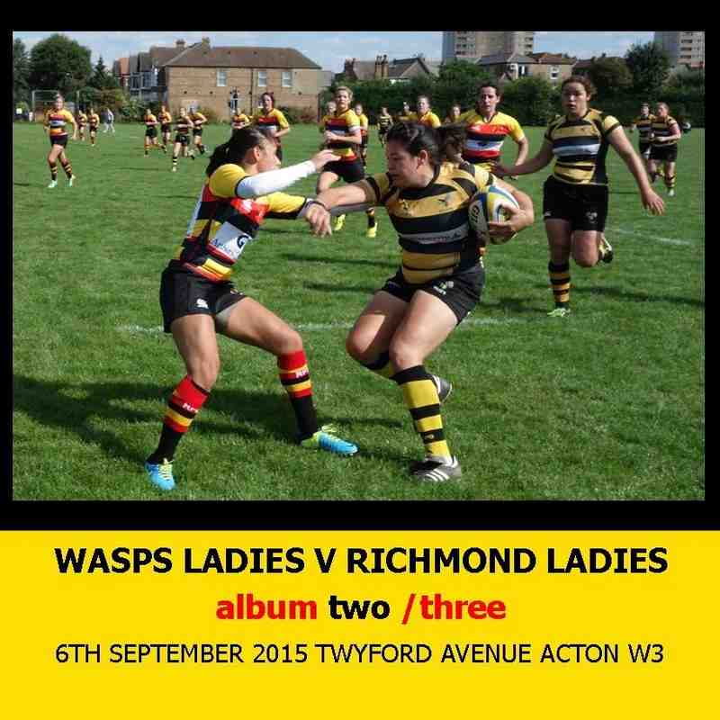 Wasps Ladies I v Richmond Ladies I - 6thSEPT15 [2]
