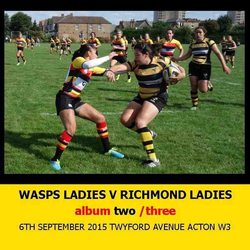 Wasps Ladies I v Richmond Ladies I - 6thSEPT15 [2]