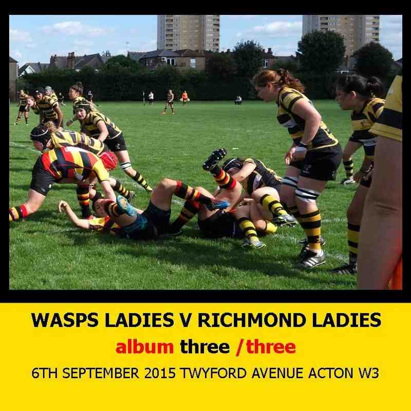 Wasps Ladies I v Richmond Ladies I - 6thSEPT15 [3]