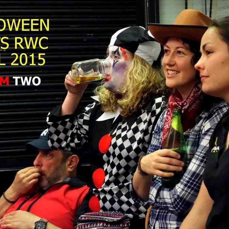 Halloween meets RWC Final TWO - November 2015