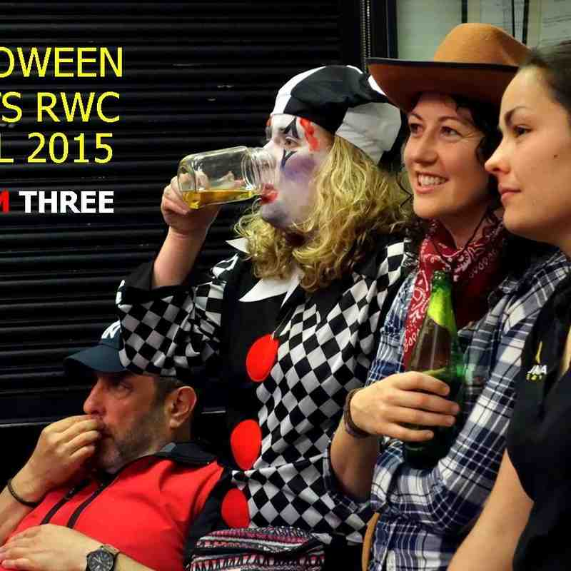 Halloween meets RWC Final THREE - November 2015