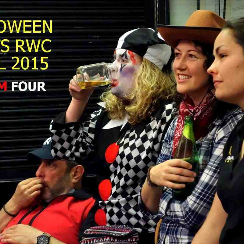 Halloween meets RWC Final - FOUR - November 2015