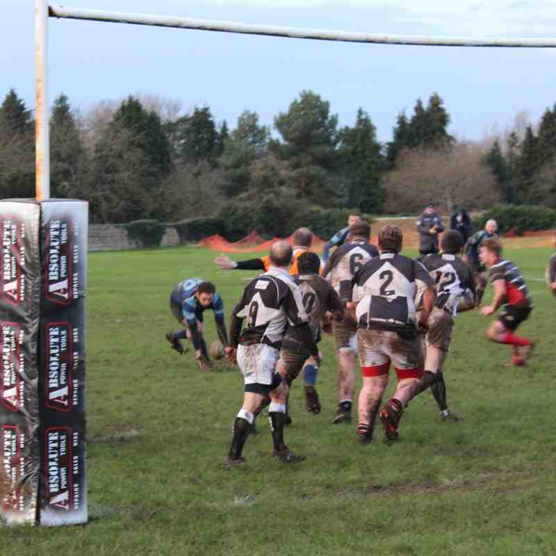 1st XV v Devizes II - 16th January 2016