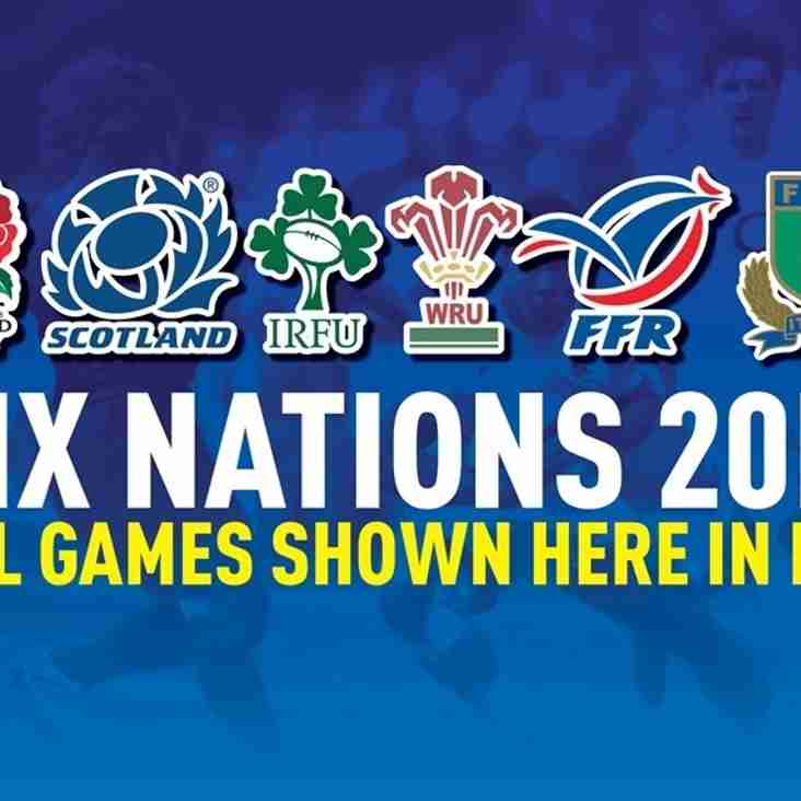 6 Nations Live at the club