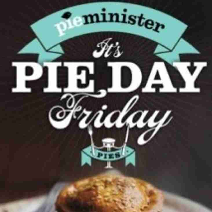 It's Pie Day Friday at the club