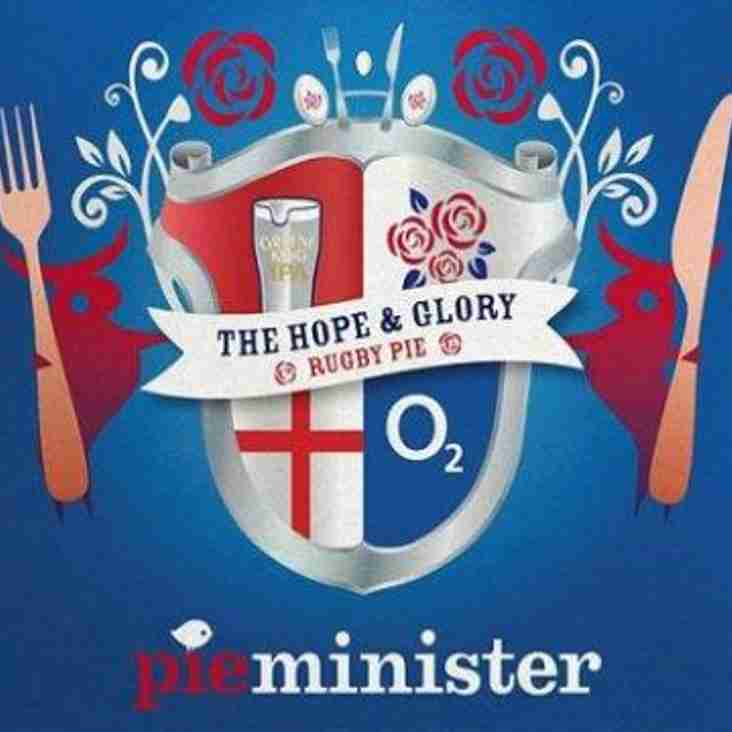 Live 6 Nations on at the club with the pieminster