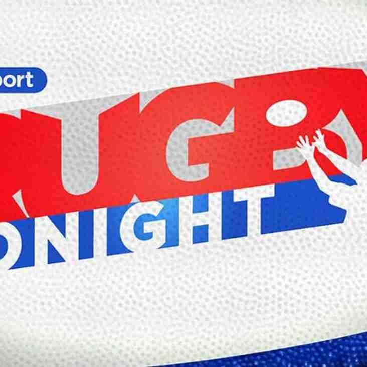 Melksham visit BT Sports Rugby Tonight