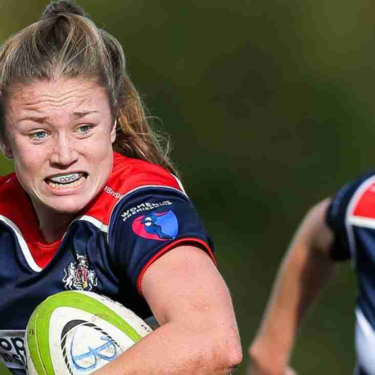 Ex Melksham ladies player Chantelle Miell is selected for England 7's